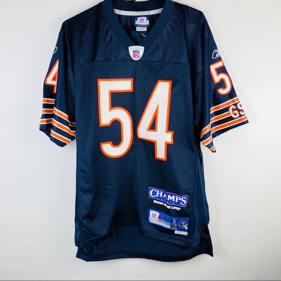 NFL Stitched Brian Urlacher 54 CHICAGO BEAR Sz S+2.  M 5bb9943b4ab6338e70c68ba1 6532144b5